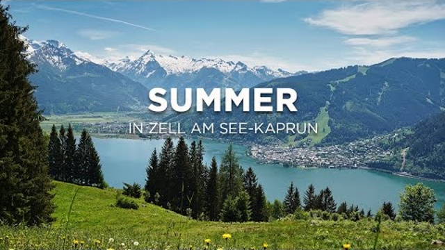 Sommer in Zell am See-Kaprun